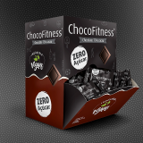 Chocolate 75% cacau puro Chocofitness - Cx. 50x5g