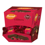 Bombom Flormel- Cranberry Display 18x15g