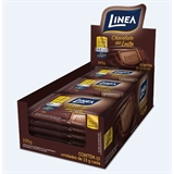 Chocolate Mini ao leite zero açúcar Linea Sucralose - display 15x13g