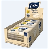 Chocolate Mini Branco zero açúcar Linea Sucralose - display 15x13g