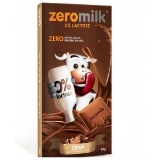 Chocolate Zeromilk Crisp- 0% Lactose Display 6x80g