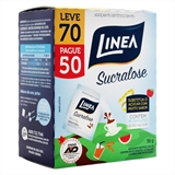 Adoçante Linea Sucralose Leve 70 Pague 50 envelopes