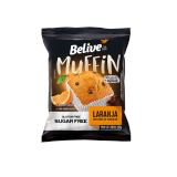 Muffin Laranja com Gotas de Chocolate Belive Be Free Display 10x40g