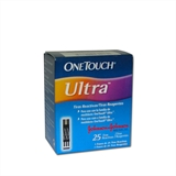 One Touch Ultra Tiras com 25 - Johnson & Johnson
