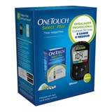 One Touch Select Plus Kit + 50 Tiras