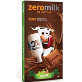 Chocolate Zeromilk Menta- 0% Lactose Display 6x80g
