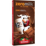 Chocolate Zeromilk Morango- 0% Lactose Display 6x80g